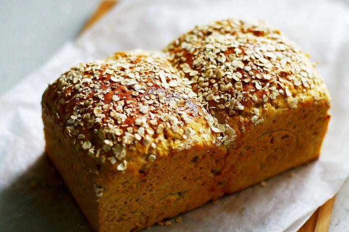 燕麦橄榄油吐司的做法图解,如何做,燕麦橄榄油吐司怎么做好吃详细步骤的做法