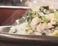 开洋火腿菜泡饭的做法第2步图片步骤 www.027eat.com
