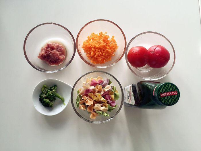番茄蔬菜肉酱蝴蝶面的做法第1步图片步骤 www.027eat.com