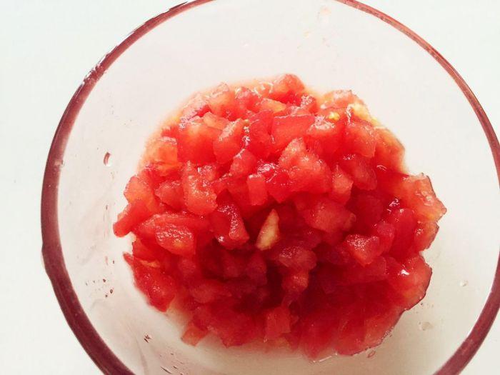 番茄蔬菜肉酱蝴蝶面的做法第4步图片步骤 www.027eat.com