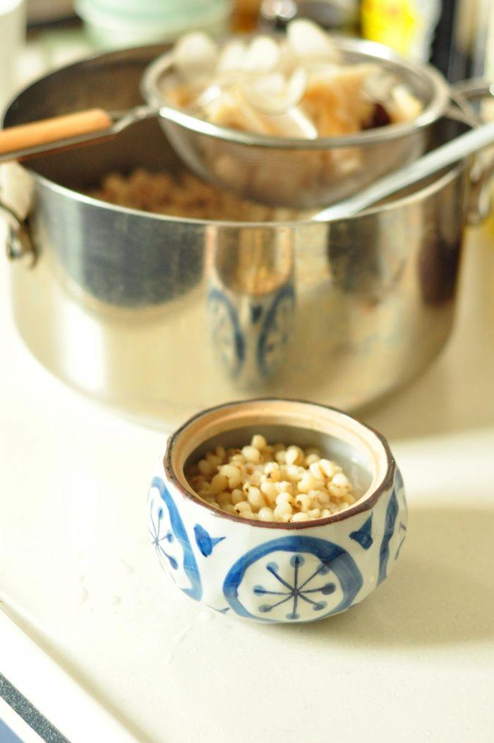 海底椰榴莲薏米汤的做法第4步图片步骤 www.027eat.com