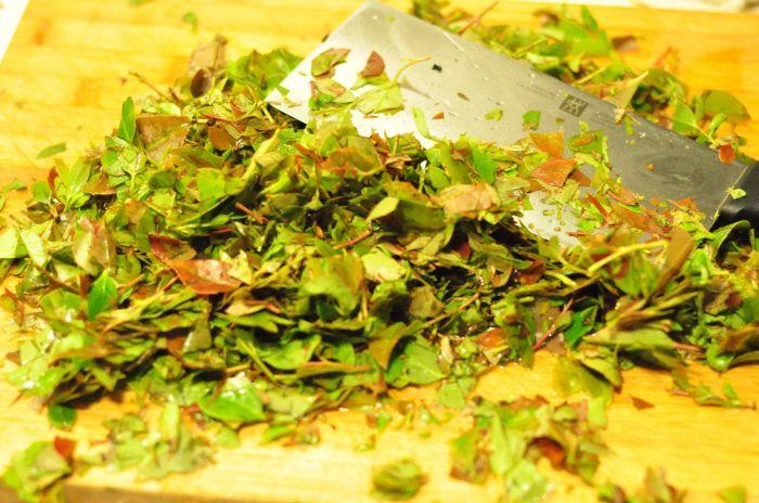 南烛乌糯饭团的做法第2步图片步骤 www.027eat.com