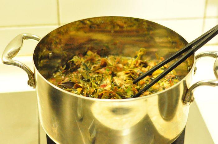 南烛乌糯饭团的做法第3步图片步骤 www.027eat.com