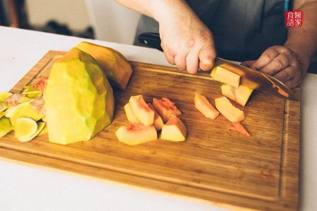 南瓜糯米小米粥的做法第3步图片步骤 www.027eat.com