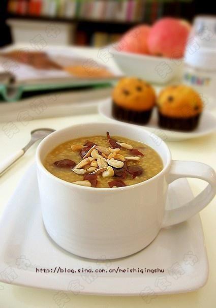 红糖小米粥的做法图解,如何做,红糖小米粥怎么做好吃详细步骤的做法