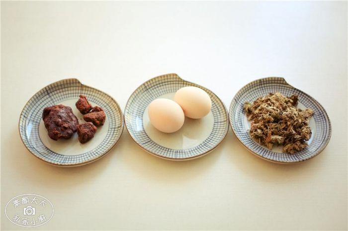 艾叶煲鸡蛋的做法第1步图片步骤 www.027eat.com
