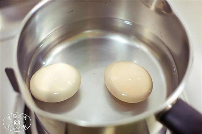艾叶煲鸡蛋的做法第2步图片步骤 www.027eat.com