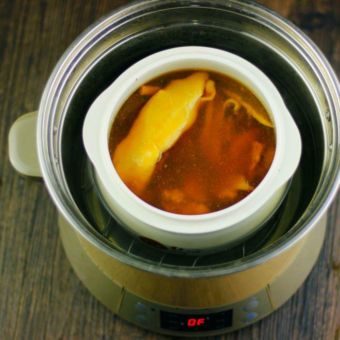 花胶益气补血汤的做法第3步图片步骤 www.027eat.com