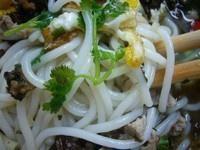 荷包蛋肉丝米线的做法第6步图片步骤 www.027eat.com