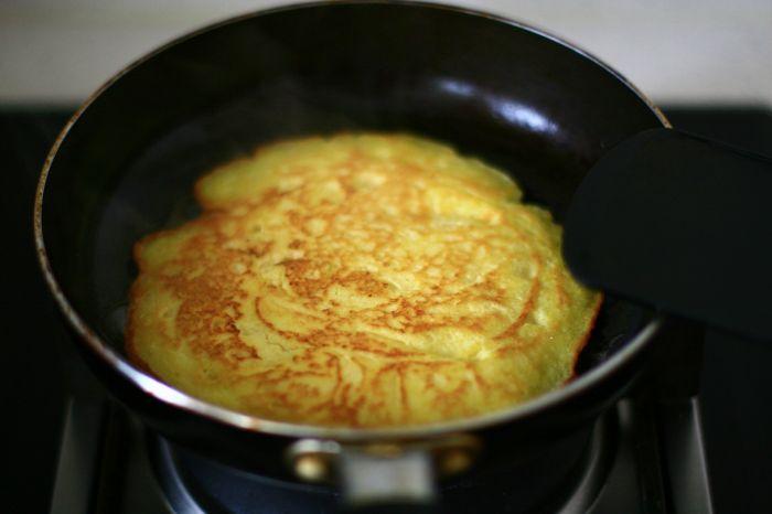 奶香豆渣鸡蛋饼的做法第5步图片步骤 www.027eat.com