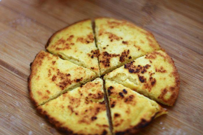 奶香豆渣鸡蛋饼的做法第6步图片步骤 www.027eat.com