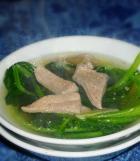 猪肝菠菜汤的做法图解,如何做,猪肝菠菜汤怎么做好吃详细步骤