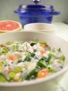 时鲜蔬菜粥的做法
