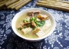 豆笋黄花排骨汤的做法