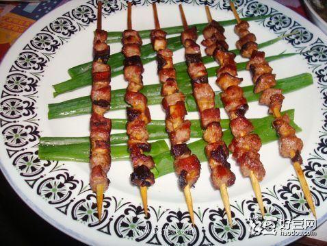 香菇肉串的做法