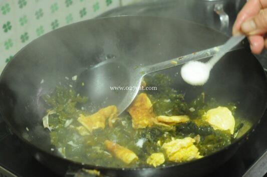地菜鸡蛋的做法第9步图片步骤 www.027eat.com