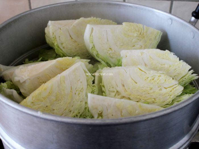 包菜土豆火腿的做法第5步图片步骤 www.027eat.com