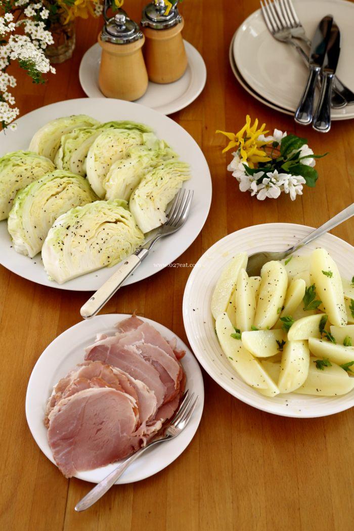 包菜土豆火腿的做法第9步图片步骤 www.027eat.com