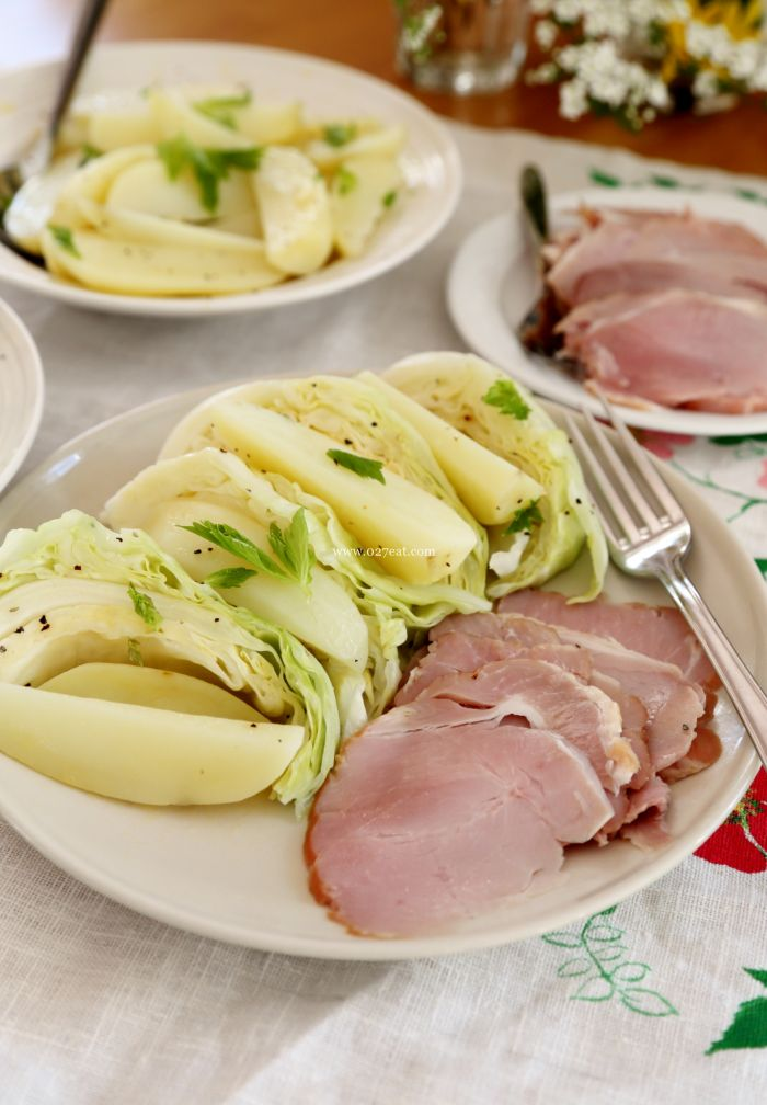 包菜土豆火腿的做法第10步图片步骤 www.027eat.com