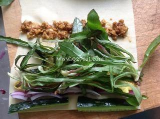 野菜豆腐卷的做法第4步图片步骤 www.027eat.com