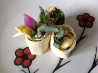 野菜豆腐卷的做法第6步图片步骤 www.027eat.com