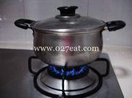 青萝卜煲老鸭汤的做法第4步图片步骤 www.027eat.com