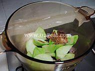 青萝卜煲老鸭汤的做法第11步图片步骤 www.027eat.com