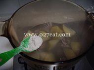 青萝卜煲老鸭汤的做法第16步图片步骤 www.027eat.com