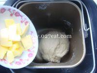 香肠葱香面包的做法第4步图片步骤 www.027eat.com