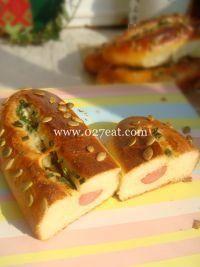 香肠葱香面包的做法第16步图片步骤 www.027eat.com
