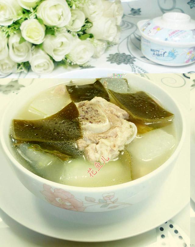 冬瓜海带肉骨汤的做法