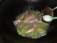 莴笋烧小黄鱼的做法第7步图片步骤 www.027eat.com