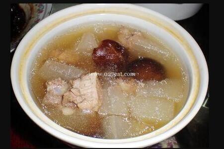 香菇冬瓜排骨汤的做法