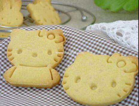 奶香卡通小饼干的做法