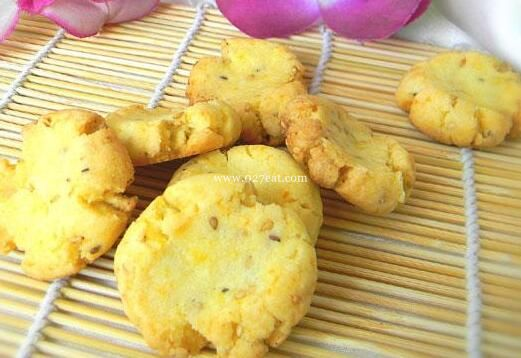 芝麻酥饼干的做法