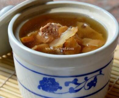 沙参玉竹汤的做法