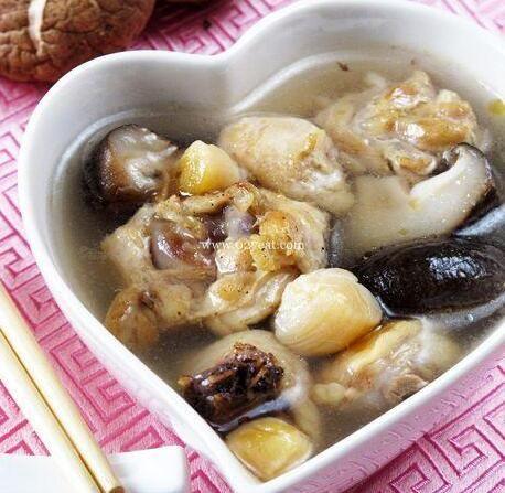 干贝香菇鸡汤的做法