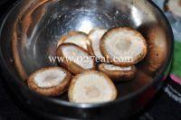 香菇烤肉的做法第1步图片步骤 www.027eat.com