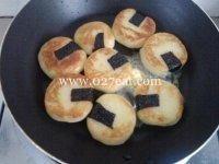 日式煎海苔土豆饼的做法第8步图片步骤 www.027eat.com