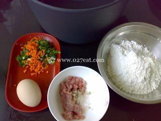 肉未咸薄饼的做法第1步图片步骤 www.027eat.com