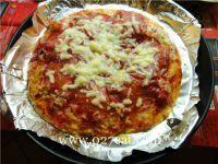 意大利香肠比萨的做法第7步图片步骤 www.027eat.com