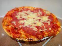 意大利香肠比萨的做法第8步图片步骤 www.027eat.com