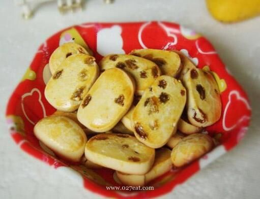 葡萄干奶油饼干的做法