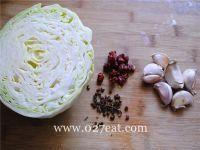 油激包菜的做法第1步图片步骤 www.027eat.com