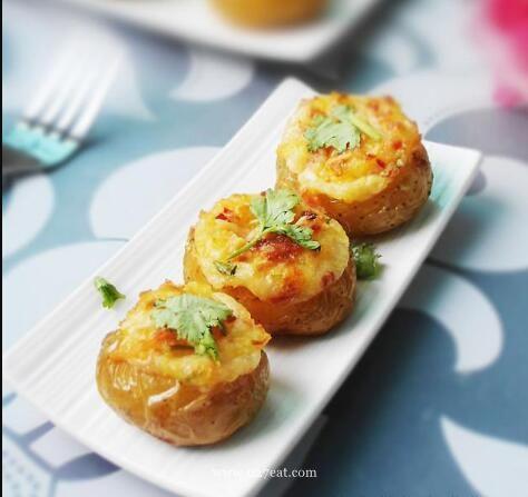双烤小土豆的做法的做法