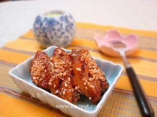 蜂蜜烤翅的做法第5步图片步骤 www.027eat.com