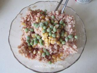 生煎莲藕饼的做法第3步图片步骤 www.027eat.com