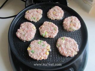 生煎莲藕饼的做法第6步图片步骤 www.027eat.com