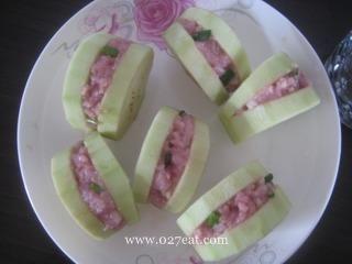蒜香茄盒的做法第4步图片步骤 www.027eat.com