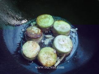 蒜香茄盒的做法第5步图片步骤 www.027eat.com